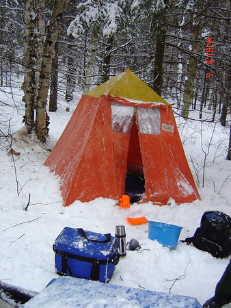 After we realized that we loved hot-tenting I decided to upgrade from the 8x8 tent which is quite small for two people. I went for a more ambitious ... & Algonquin Adventures Message Board: Winter Tent