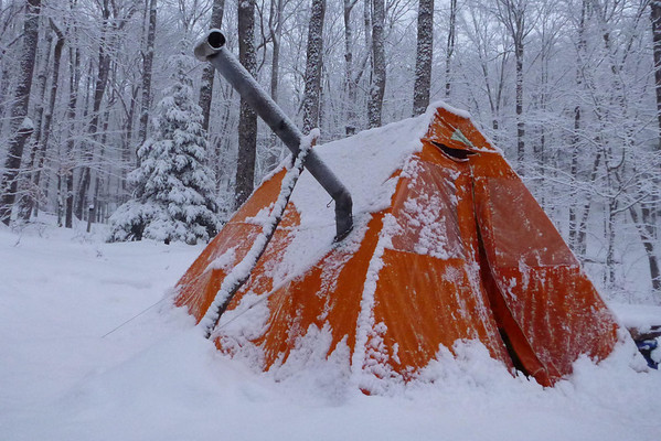 Snowtrekker is the most popular brand but there are other companies. Some take old canvas tents and convert them for winter-use (ie w/ woodstove). & Algonquin Adventures Message Board: winter canvas tent